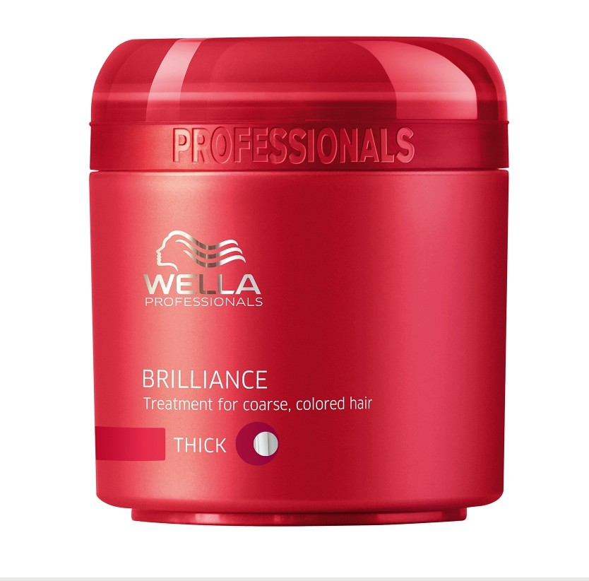 Masca Tratament Wella Professionals Care Brilliance Coarse Pentru Par Vopsit 150ml