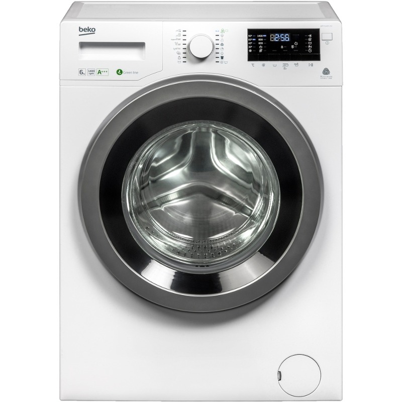 Masina de spalat rufe Beko WMY 61483LB2 6kg, 1400 rpm, clasa A+++, AquaFusion, Woolmark Silver