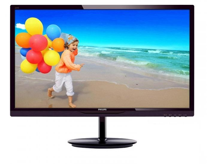 Monitor LED Philips 284E5QHAD 24 W-LED 1920x1080 16:9 Black chery