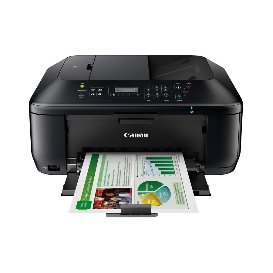 Multifunctional Cu Jet Canon Pixma Mx535 A4  Duplex  Prin/scan/copy/fax  Adf 30 Pag  Usb  Wireless