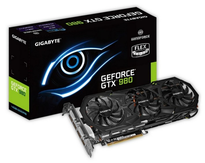 Placa Video Gigabyte N980wf3oc-4gd Nvidia Geforce Gtx980 Wf3 Oc 256-bit