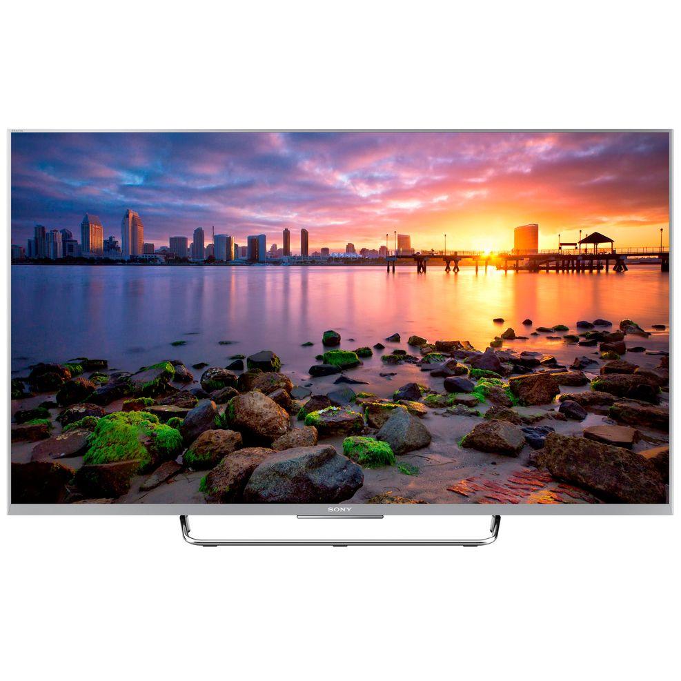 Televizor Led Sony Bravia Kdl-50w756 50 Full Hd Smart Tv  800 Hz  Dvb T/t2/c/s/s2  Ci+  Wifi  Argintiu