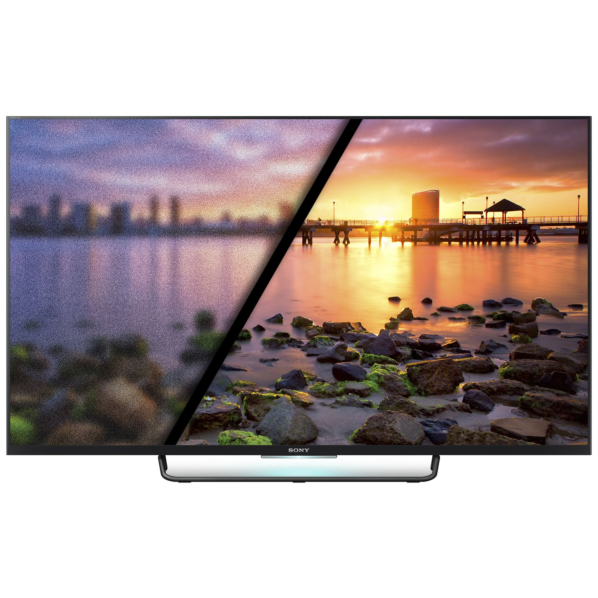 Televizor Led Sony Bravia Kdl-43w755c 43 Edge Led Full Hd Smart Tv  800hz  Wifi  Nfc  Dvb-c/t/t2  Ci+  Negru