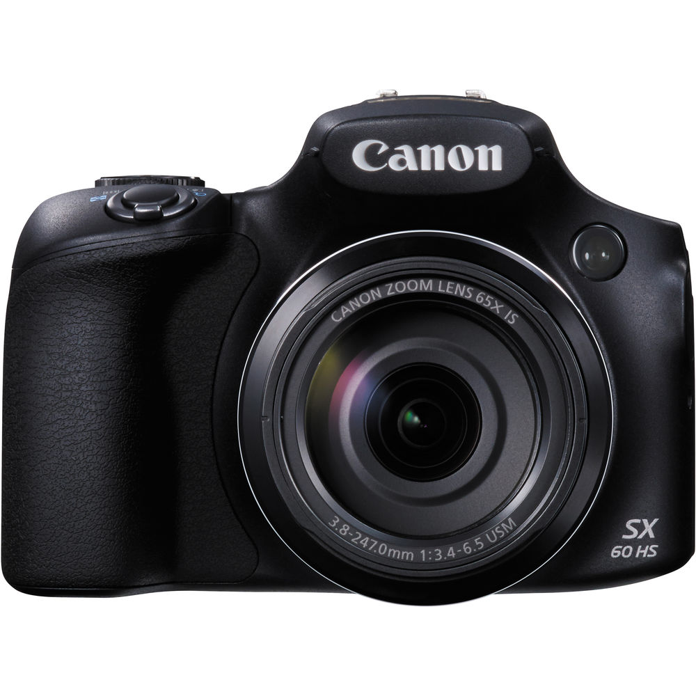 Aparat Foto Digital Canon Powershot Sx60 Hs 16.1mp  Black