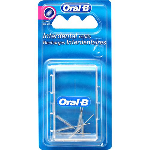 Rezerve Cilindrice Interdentare Oral-b 6buc