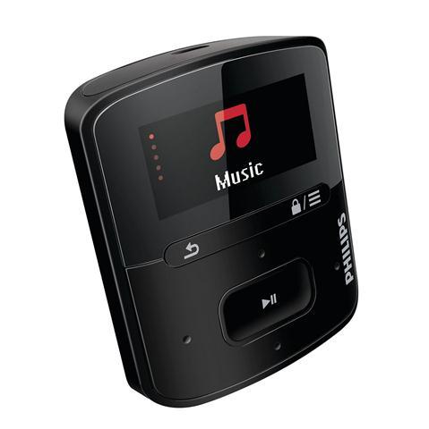 Mp3 Player Philips Sa4rga02kf Raga 2gb  Black