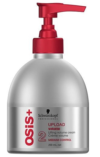 Crema Volum Schwarzkopf Osis+ Upload Fixare Medie 200ml