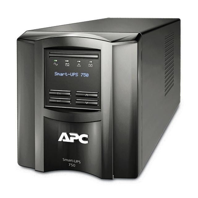 Ups Apc Smart-ups  750va/500w  Lcd