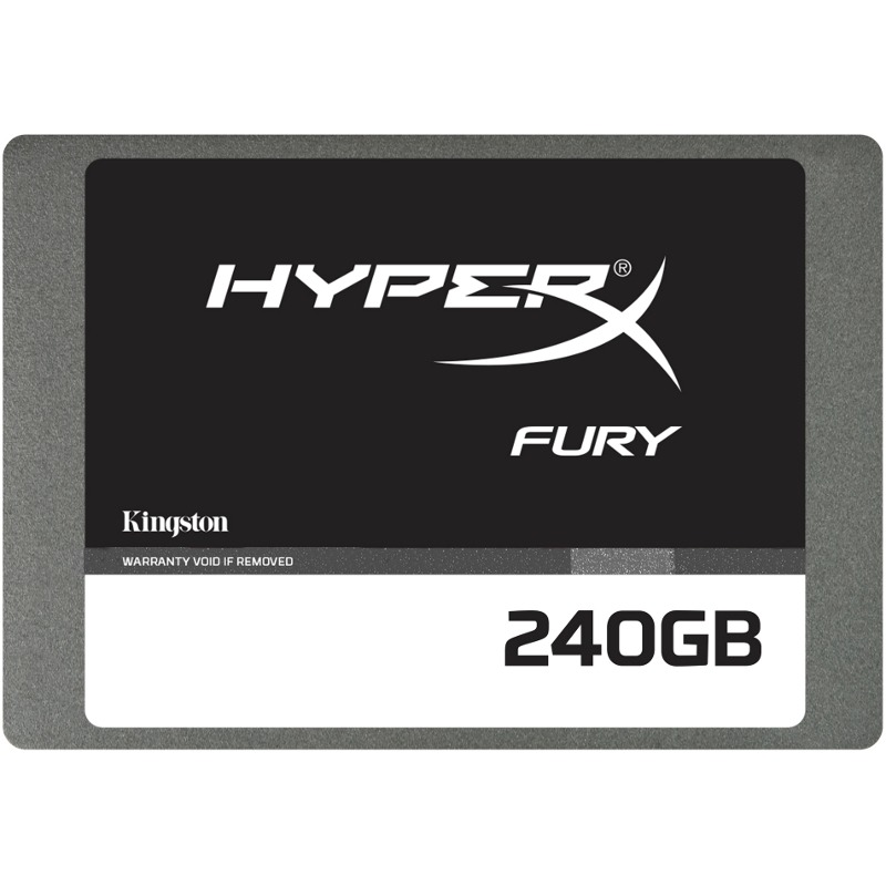 Ssd Kingston Hyperx Fury 240gb Sata3 2.5
