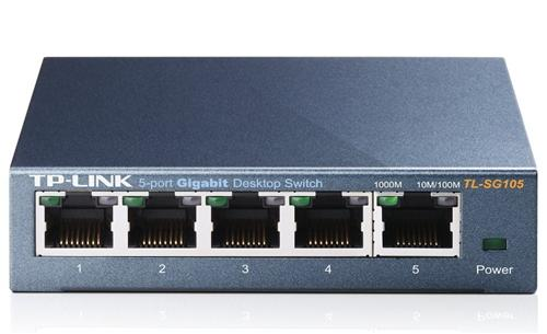 Switch Tp-link Tl-sg105 5 Port Gigabit