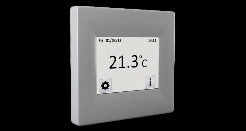 Termostat Digital De Interior Fenix Tft Cu Touchscreen