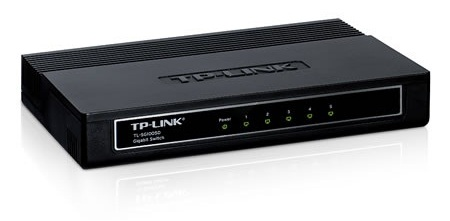 Switch Tp-link Tl-sg1005d 5 Port-uri 10/100/1000 Gigabit  Carcasa Plastic