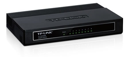 Switch Tp-link Tl-sg1008d 8 Port-uri 10/100/1000 Gigabit  Desktop