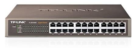 Switch Tp-link Tl-sg1024d 24 Port-uri 10/100/1000 Gigabit  Carcasa Metalica Desktop/rack