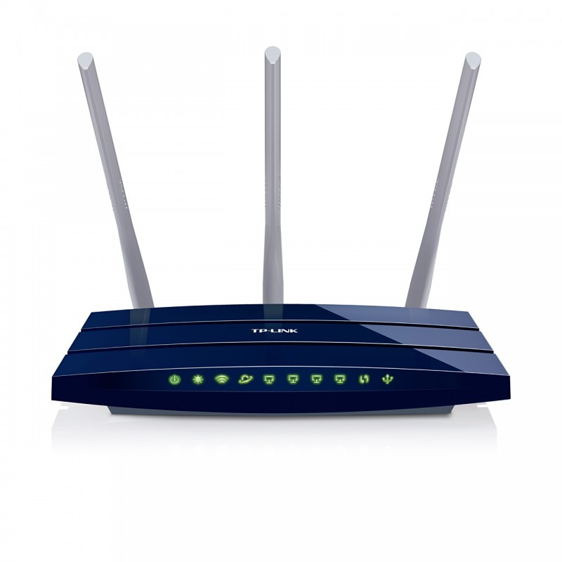 Router Wireless TP-LINK TL-WR1043ND 4 Porturi 300Mbps, 1 port USB