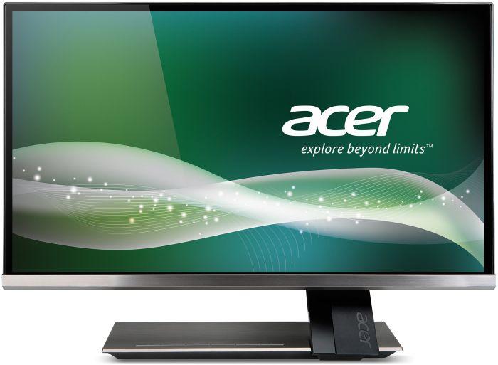 Monitor LED Acer S236HLTMJJ 23 FullHD ZeroFrame IPS, 16:9, Titanium