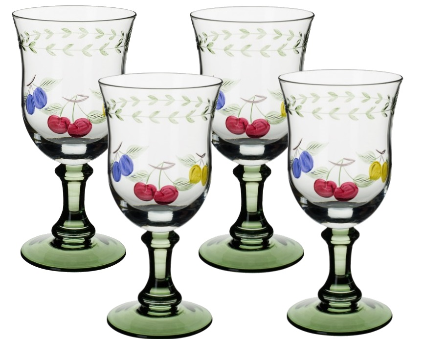 Set Pahare Apa Villeroy & Boch French Garden Accessoires 4 Piese  17cm