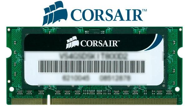 Memorie Corsair Valueselect 4 Gb So-dimm Ddr2 800 Mhz