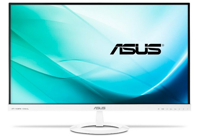 Monitor Led Asus Vx279h-w 27 1920x1080 Ips 16:9 Alb