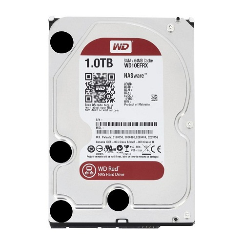 Hard Disk Western Digital Red Intellipower 1tb Sata3  64mb