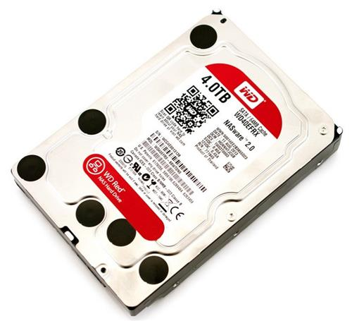 Hdd Western Digital Red 4tb 64mb Sata 6 Gb/s 3.5 Intellipower