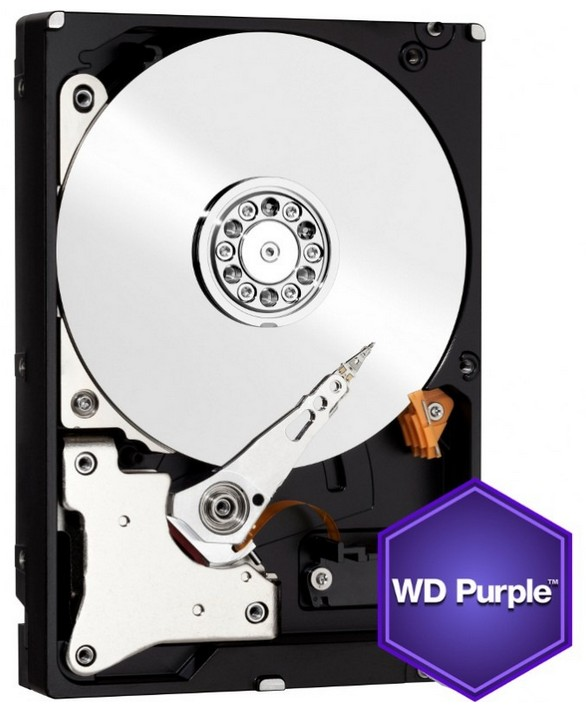 Hdd Western Digital Purple 5tb 3.5 64mb Sata3