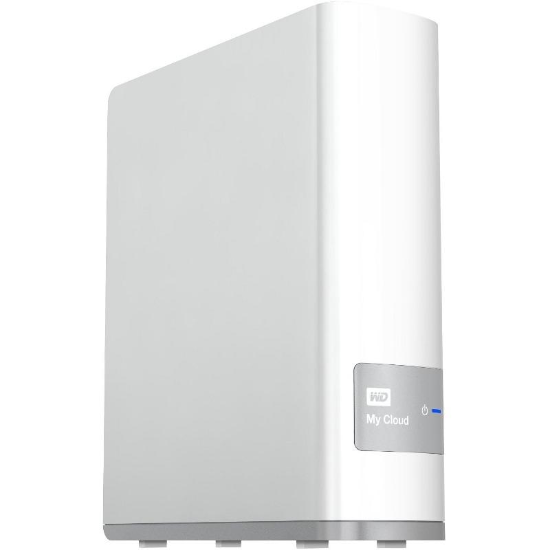 Nas Western Digital Mycloud 4tb Gigabit Ethernet Wdbctl0040hwt
