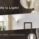 iluminat interior eglo trend