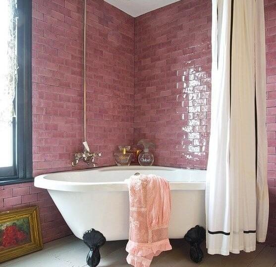 Culoarea in baie