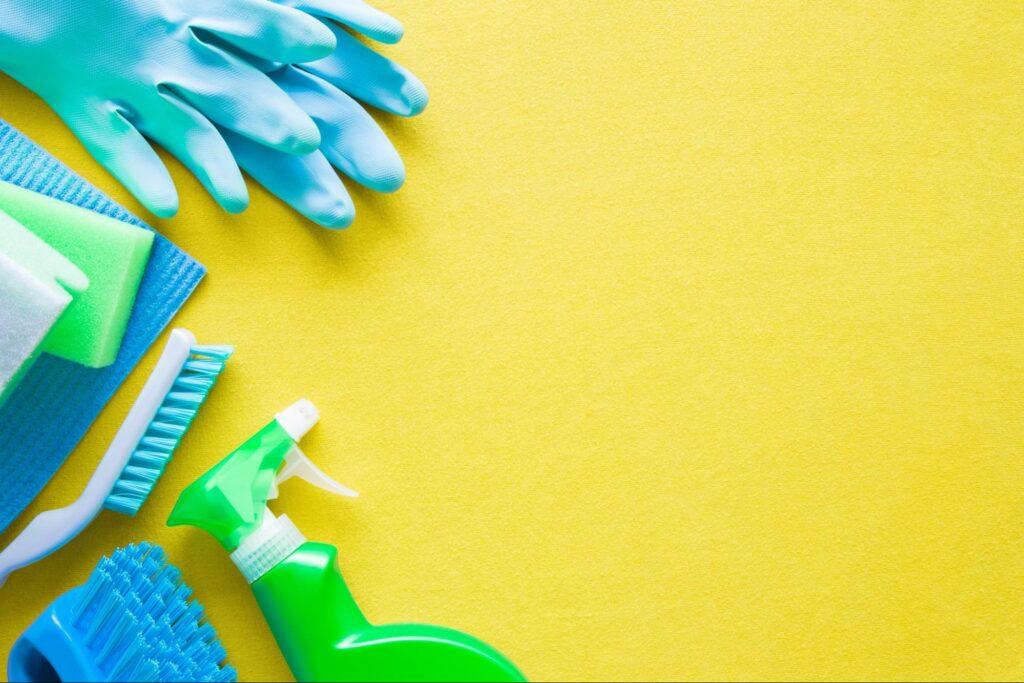 Curățarea faianței și a gresiei