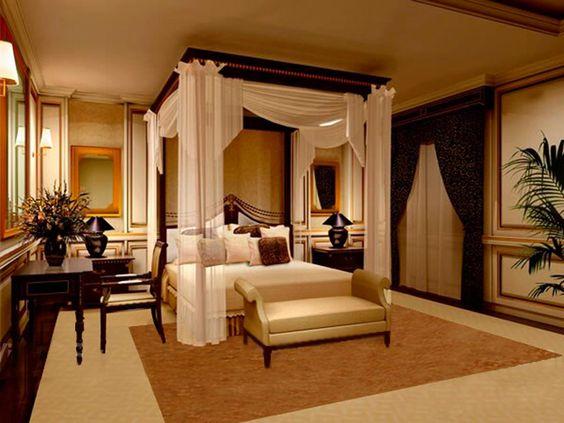 Dormitorul romantic