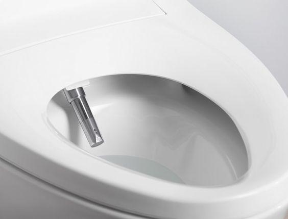 WC cu spălare și uscare