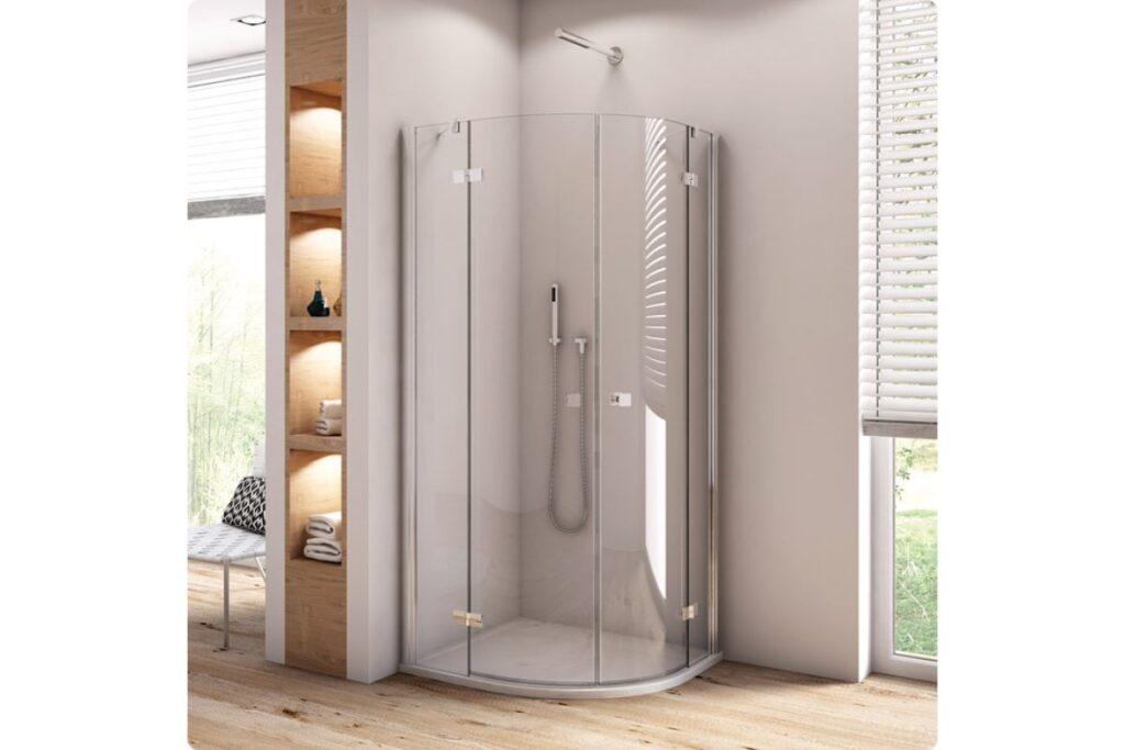 Cabina de duș fără cădiță