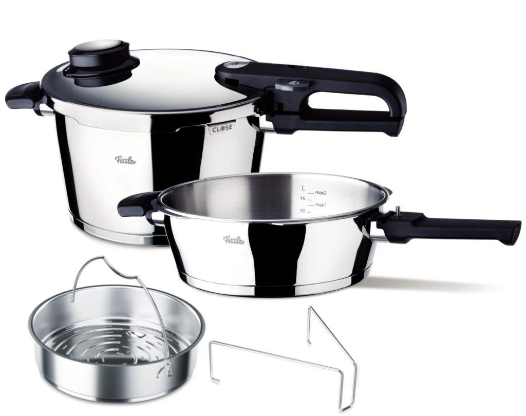 Gătitul la aburi în oala sub presiune